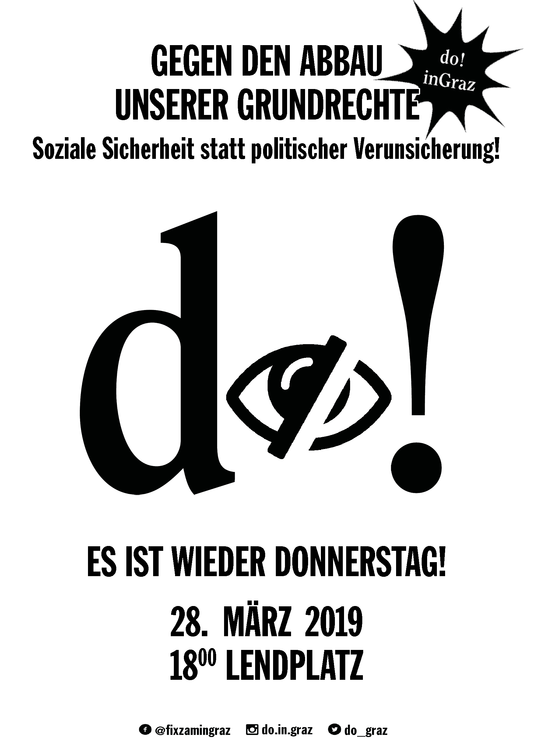 Flyer: Do! in Graz