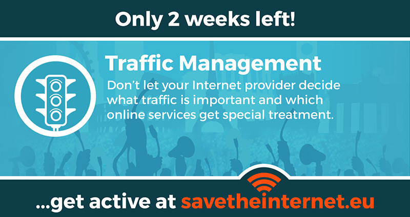 Sharable savetheinternet.eu - Trafficmanagement